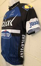 NEW COOLMAX Vermarc etixx Cycling Bicycle Jersey Size Small Blue Black White