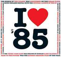 33rd BIRTHDAY GIFT - I Love 1985 Greeting Card and Compilation Music CD