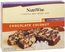 NutriWise - Chocolate Coconut Crispy Diet High Protein,Gluten Free Bars