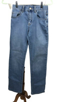 Gap Girl's Size 16 Slim Light Wash Denim Jeans Straight Leg Adjustable Waist