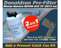 Donaldson Pre Filter Kit for Nissan Navara 2015-on 2.3L D23 NP300