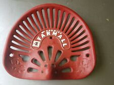 Vintage Cast Iron McCormick Farmall International Harvester Tractor Seat (Seat#2