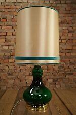70s Tischlampe Vintage 70er Lampe goldene Tischleuchte Sideboard Leuchte 60er