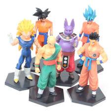 6pcs Dragon Ball Vegeta Son Goku Super Saiyan Shanpa Champa Figure Set Figurine