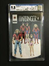 Harbinger #6 Death Of Torque, Lapham Coupon, Custom Valiant Label CGC 9.8 1992