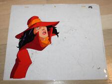 Carmen Sandiego DIC Original Production Cel & Skech #3