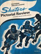 1971 ROLLER Derby GAMES Skaters PICTORIAL Vol. 13 PROGRAM:  T-BIRDS + WARRIORS!!