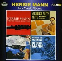 Herbie Mann - Four Classic Albums (Herbie Mann With The Wessel Ilcken [CD]