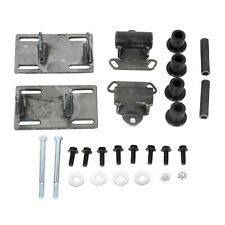 Full Engine Mount Adapter Plates Urethane Swap Kit For Sonoma S10 LSx LS1 LS2 LS