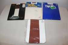Lot of 4 Vintage Hosiery Pantyhose National, Hanes, Gantos L#319a