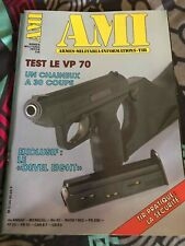AMI. international des armes. n°30 de 1982. VP 70, le devel eight - ca131