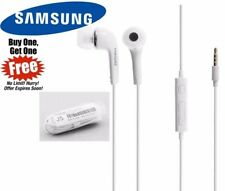 2 X Genuine Samsung Handsfree Earphones for Galaxy S7 S6 S4 S5 S3 Note 3 4 5