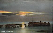 Sunset Over Jetty / Pier, MARGATE, Kent
