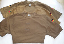 T - SHIRT ARMEE ALLEMANDE TROPICAL TAN COYOTE / T SHIRT BUNDESWEHR  Taille: S
