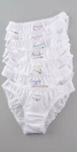 Stella McCartney Knickers of Weekend Bikini Briefs Painties 2 Pack Msrp 90 Large