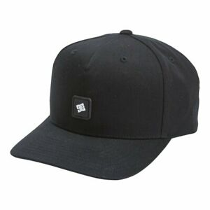 DC SHOES SKATE SNAPDRIPP 2 SNAPBACK MENS CAP BLACK  ADYHA03994 KVJ0