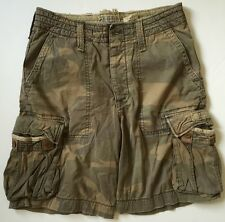 Collectible RUEHL No.925 Abercrombie & Fitch Vintage Military Cargo Shorts Sz M