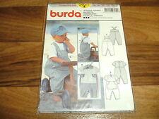 BURDA-BABY Schnittmuster 3021            LATZHOSE + OVERALL              62-92