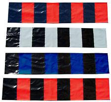 STOCK 2.000 PEZZI sciarpe plastica bandiere stadio COREOGRAFIA flags cm 100 x 20