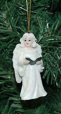 Snow White Angel Christmas Ornament (Bible)