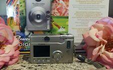 Canon PowerShot S200 2MP Digital ELPH Camera w/ 2x Optical Zoom + CASE & BATTS
