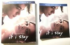 SLIPCOVER & CASE ART ONLY for * IF I STAY Blu-ray DVD * (NO Discs/NO Case)