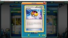 4x Level Ball 76/98 for Pokemon TCG Online PTCGO, Digital Card