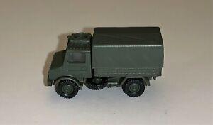 Herpa Minitanks (905) N Gauge Unimog U1300 Vehicle for model railways
