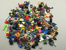 8 Ounces of Non Lego Minifig Parts and Accessories Megablok Heroes TMNT A141