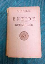 VIRGILIO - ENEIDE - GEORGICHE - LIBRO (1929) Casa editrice Toscana - RARO!