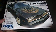 MPC PONTIAC FIREBIRD BLACKBIRD TRANS AM VINTAGE Model Car Mountain 1/25 fs 1980