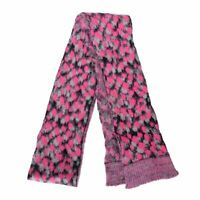 Just Cavalli Wool Multi-Color Knitted Women's Scarf