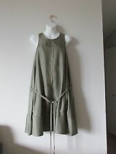 New Rag Bone Ayon Green 100% Silk Dress Size XS Made in USA