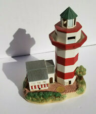"Lefton 1999 10"" Lighthouse Harbour Town Light Sc Music Box Le /3000 Hilton Head"