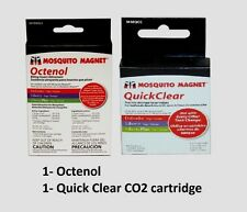 Mosquito Magnet Octenol & Quick Clear Cartridges 3 Pack of each NEW!