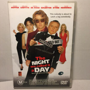 The Night We Called It a Day  (DVD, 2003) Region 4 PAL