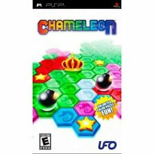 Chameleon (Sony PSP, 2008) COMPLETE VIDEO GAME UMB 1-2 Players ESRB Everyone UFO