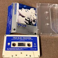 MADONNA True Blue JAPAN CASSETTE TAPE PKG-3175 w/PS (flap torn) No Insert FreeSH