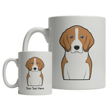 American Foxhound Dog Cartoon Mug - Personalized Text Coffee Tea Cup