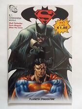 SUPERMAN/BATMAN 1/14 SEQUENZA SEMICOMPLETA PLANETA PIU' CHE OTTIMO/EDICOLA