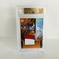 Will Fuller 2016 Panini Certified Mirror Orange Auto 3 Clr Patch RC #/99 BGS 9.5