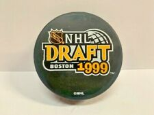 1999 Nhl Boston Draft Official Licensed Puck