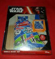 Parure de Lit Star Wars (Housse de Couette réversible + Taie d'Oreiller)