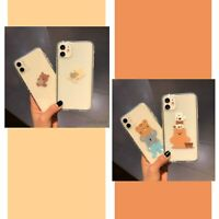 Cute Funny Minimal Cartoon Case Cover For iPhone 8 XS MAX XR 11 12 MINI PRO MAX