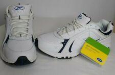 New Dr Scholls Gel Cushion Mens Size 11 White/Blue Accents Tennis Comfort Shoes
