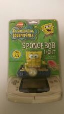 NEW FACTORY SEALED SPONGEBOB SQUAREPANTS LIGHT FOR THE GAMEBOY ADVANCE SYSTEM