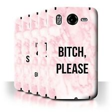 STUFF4 Back Case/Cover/Skin for HTC Desire HD/G10/Funny Marble Diva Fashion