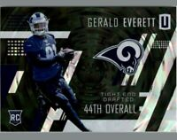 2017 Panini Unparalleled Football Card #220 Gerald Everett RC Rams