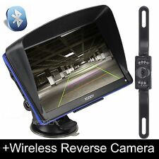 XGODY 7'' Truck & Car GPS Navigation System+Wireless Reverse Camera 8GB SAT NAV