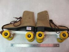 VINTAGE MELODY ALL AMERICAN MENS ROLLER SKATES SIZE 10 NICE